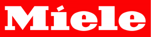 Miele Logo in Rot/Weiß